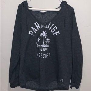Distressed Victoria's Secret pullover